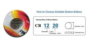 Image 3 - Panasonic pilas de botón CR1220 CR 1220 3V, 5 unidades/lote, batería de litio BR1220 DL1220 ECR1220 LM1220