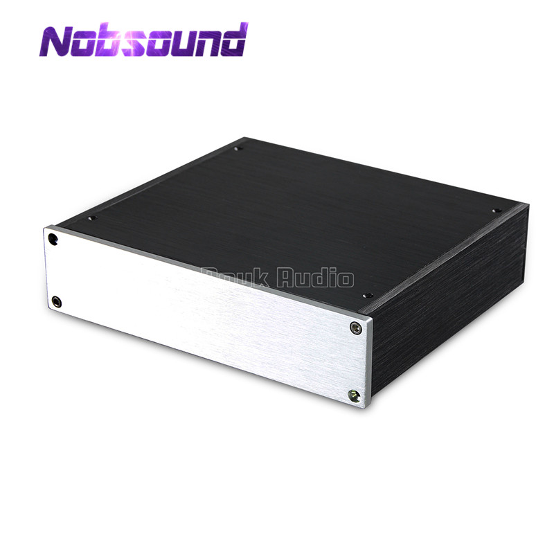 Nobsound Mini Preamplifier Headphone Amp DAC Chassis Aluminum Enclosure Case