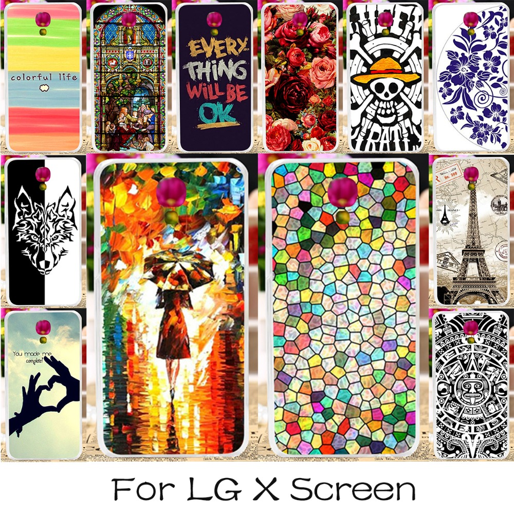 TAOYUNXI 3C Products Store Silicone Or Plastic Mobile Phone Cover Case For LG X Screen Case X View K500DS K500 K500N K500Y X-screen 4.93 Inch Covers Shell