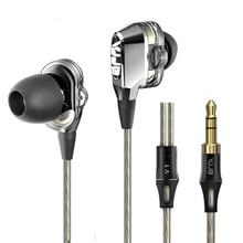 VJJB V1 V1S 4 Speakers HIFI Quality Sound font b Metal b font In Ear Earphone