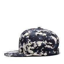 Brand Snapback 100% Quality Cotton Camouflage Baseball Caps Men Women Fashion Hip Hop Hats  Spring Summer Autumn Cap Bone