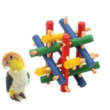Bird-Toys Ball-Accessories Parrot Parakeet African Grey Cage-Decoration Perch Cockatiel