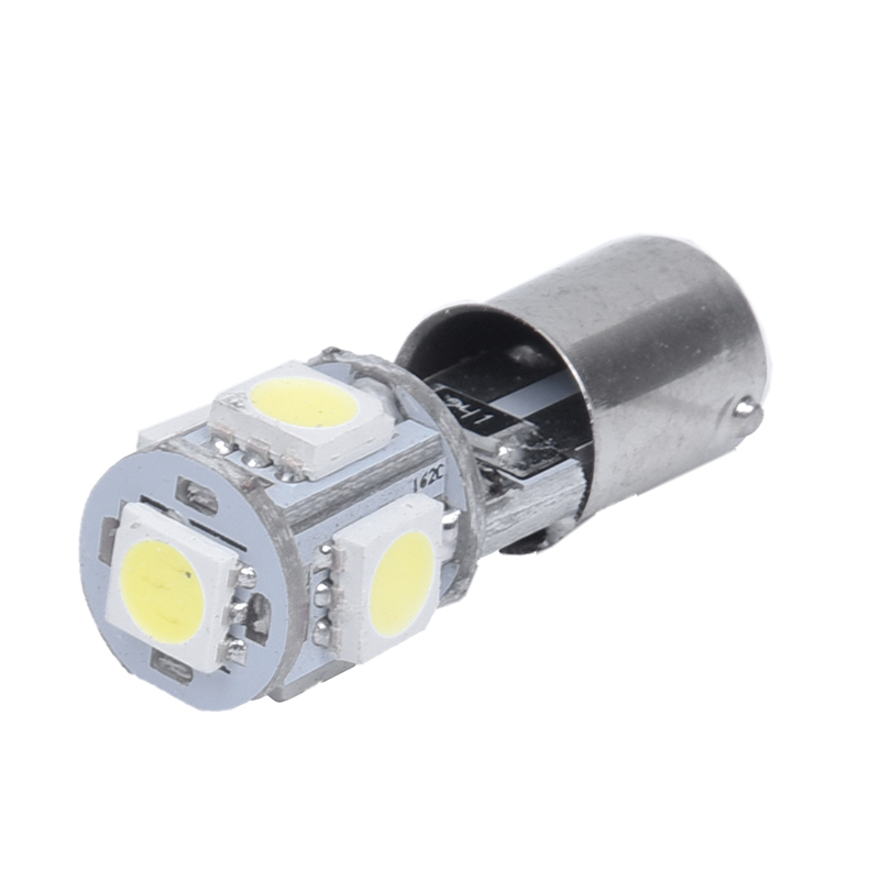 BA9S T11 5 SMD LED Light Bulb Lamp White CANBUS DC 12V