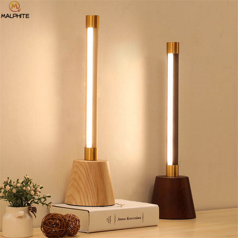 Post modern Wooden Table Lamp Remote Control Solid Wood Lamp Table For Living Room Luminaire Nordics Bedroom Bedside LampPost modern Wooden Table Lamp Remote Control Solid Wood Lamp Table For Living Room Luminaire Nordics Bedroom Bedside Lamp