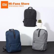 New Original Xiaomi Fashion School Bag Backapck 600D Polyester Durable Waterproof Outdoor Suit For 15.6 Inch Laptop Computer