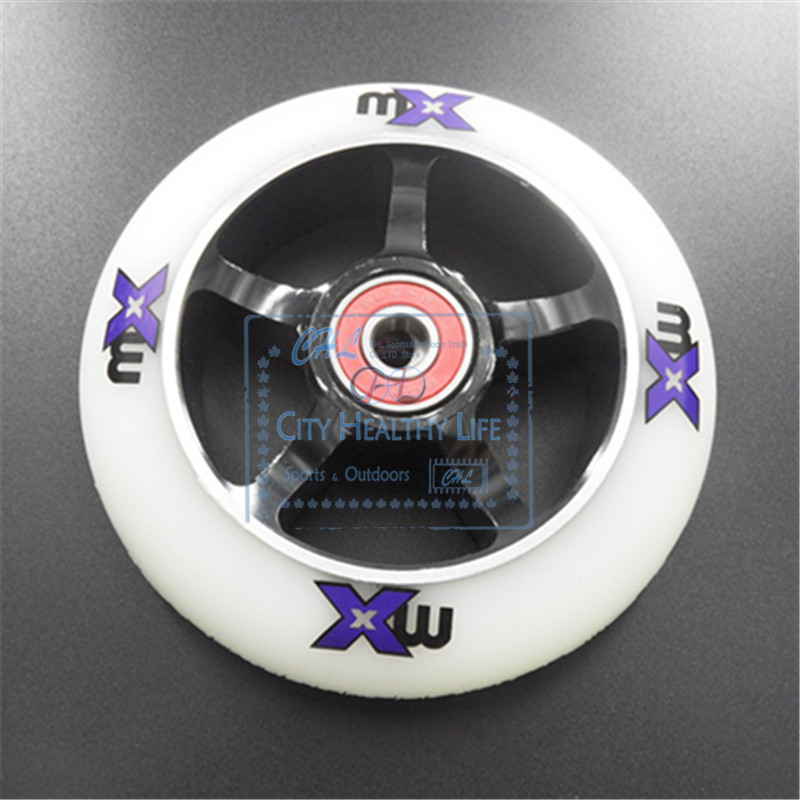 110mm 100mm Scooter Wheels Aluminium Alloy Steel Wheel Hub High Elasticity and Precision speed skating wheel