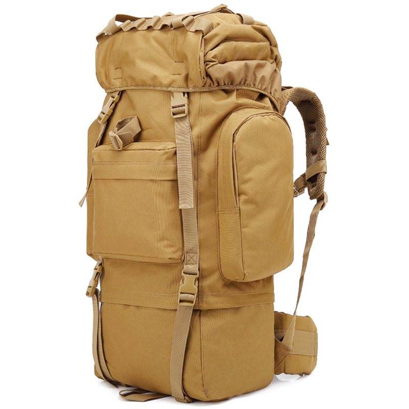 65L Waterproof Tactical Camouflage Sprots Backpack Male Travel Outdoor Military Men Mountaineering Hiking Climbing Camping Bags