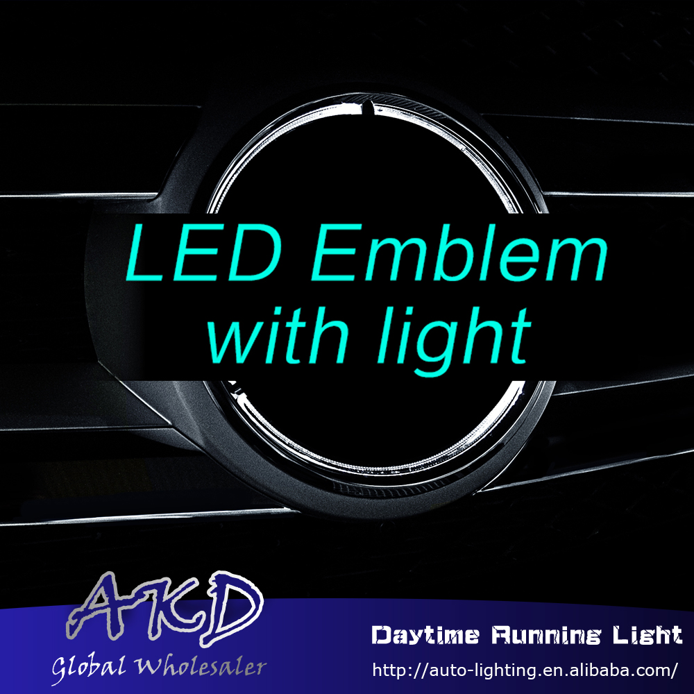 Emblem-Light ML63 W166 ML350 Mercedes-Benz for Led ML400 Car-Styling Embelem Benz-Ml