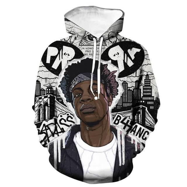 xxxtentacion hoodies men 3d streetwear hip hop Sweatshirt autumn harajuku lil peep game 2018new hoodie Halloween Skull headr