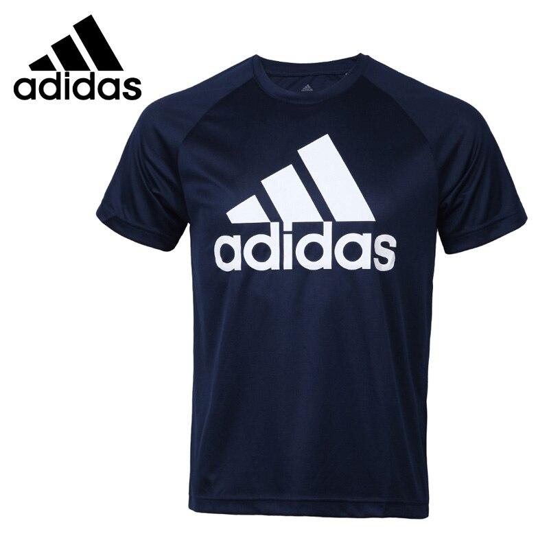 Original New Arrival 2017 Adidas D2M TEE LOGO Men's T-shirts short sleeve Sportswear original new arrival adidas rs ss tee m men s t shirts short sleeve sportswear