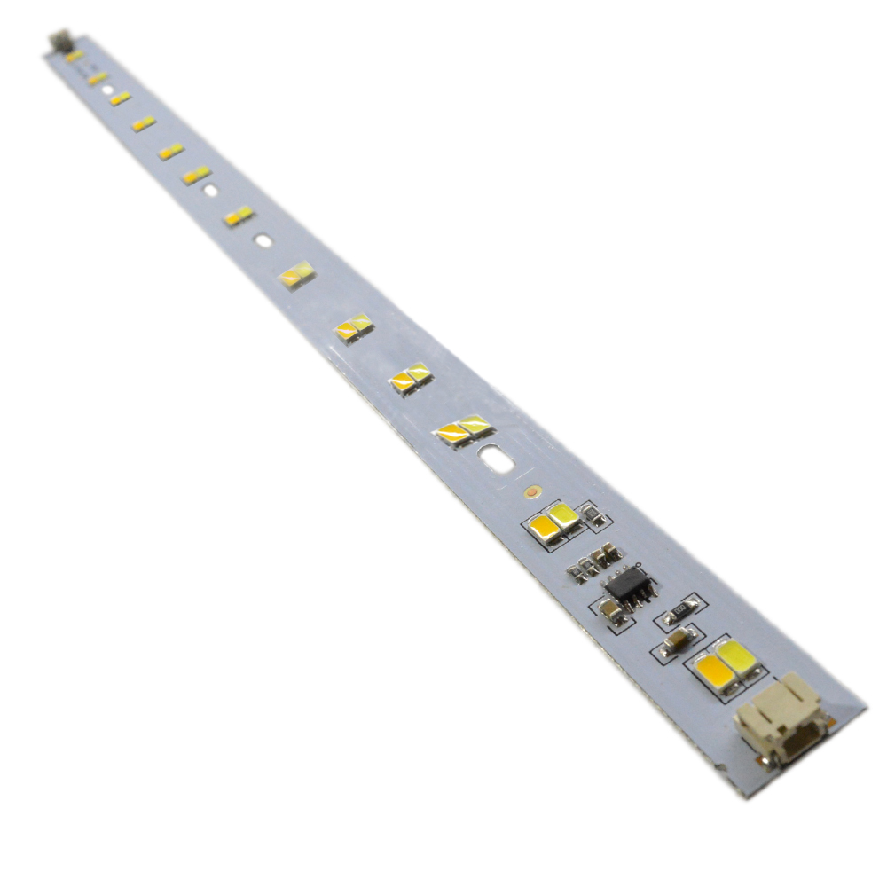 10 sets AC220v 6w x2 Double Color Three Light Mode SMD 5730 LED Light Bar PCB integrated IC driver For LED Tubes