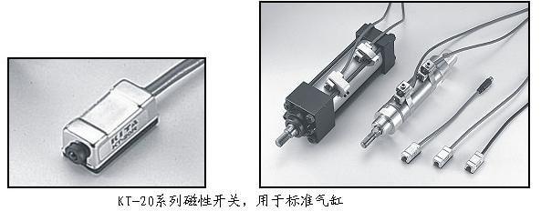 TAIWAN KT-20R-2M capteur REED commutateur (LONG fil) AC DC 5-240 V