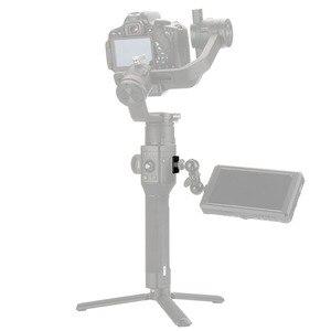 Image 2 - Kamera Monitor Montage Platte Video Verlängerung Adapter Für DJI Ronin S Gimbal Extender Stabilisator mit 1/4 Schraube Für magie Arm Mic