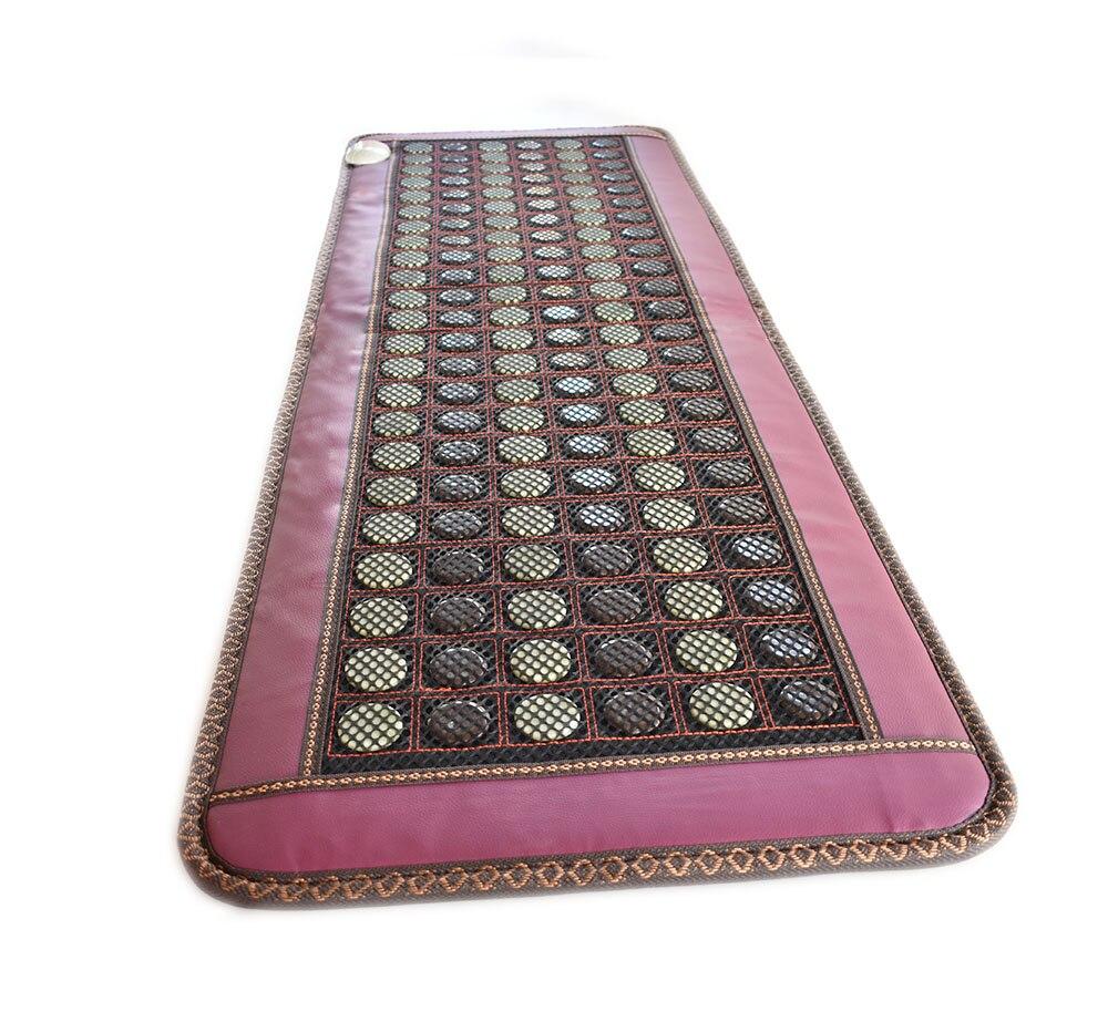 Нефритовая диванная подушка анион германиевый камень ворс кофе Отопление увлажняющий диван подушка для здоровья - 3