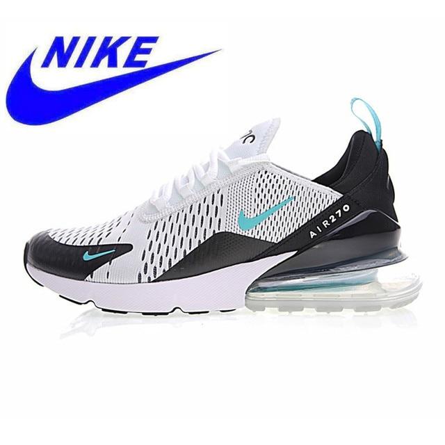 timeless design c6e97 94975 Nova Chegada Original Autêntico Nike Air Max 270 Homens Correndo Sapatos  Tênis Esporte Ao Ar Livre