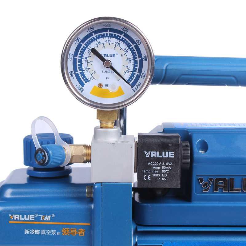 3.6m3/h 220 v 180 w V-i120SV aria condizionata laboratorio pompa di aria in frigorifero R410 pompa a vuoto 1L R410 R407C, r134a, R12, R22