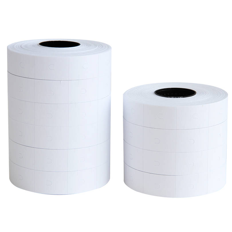 Deli Practical 10pcs A Lot Display Accessories Price Paper White Adhesive Price 23*16 Paper Size Make Price Paper deli 9061 fluorescent memo paper size m