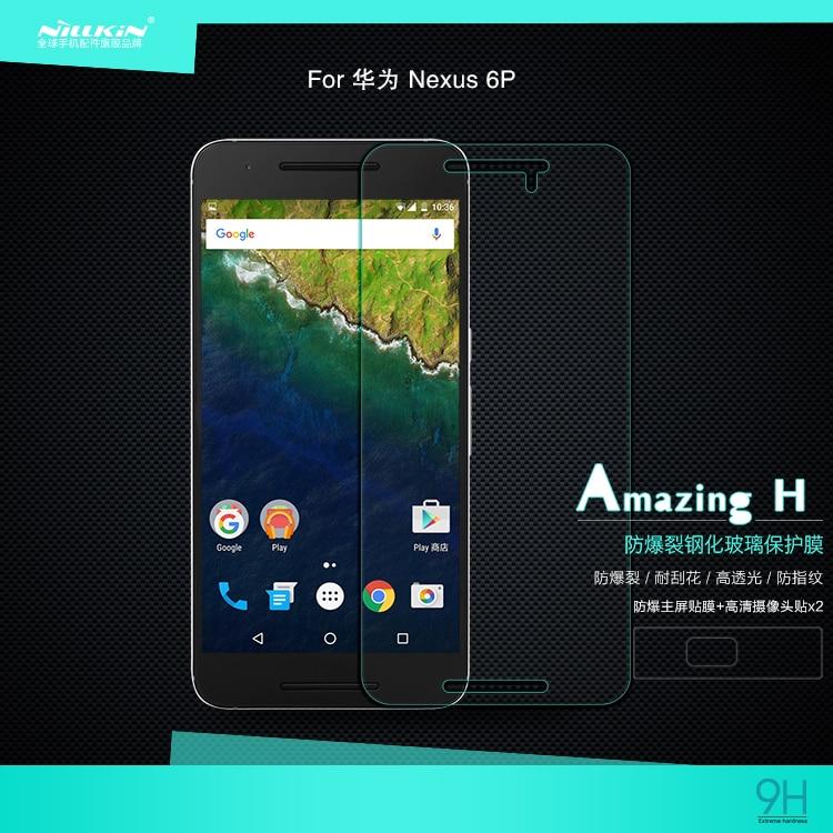 NILLKIN For Huawei Nexus 6P screen protector for Huawei Nexus 6P film H  H+Pro Nano tempered glass for Nexus 6P protective film