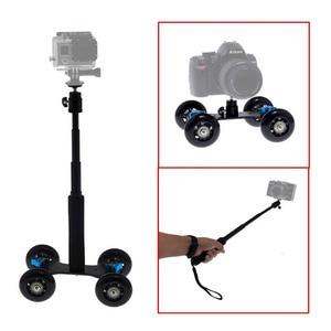 """Image 5 - Мобильная раздвижная тележка 7 """"Magic Arm, выдвижной ручной монопод для автопортрета с прикрепленным штативом для GoPro 7"""