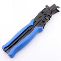1PC Crimping Tool For RG6 RG11 Crimping Plier Cable TV F Connector Tool Clamp Plier
