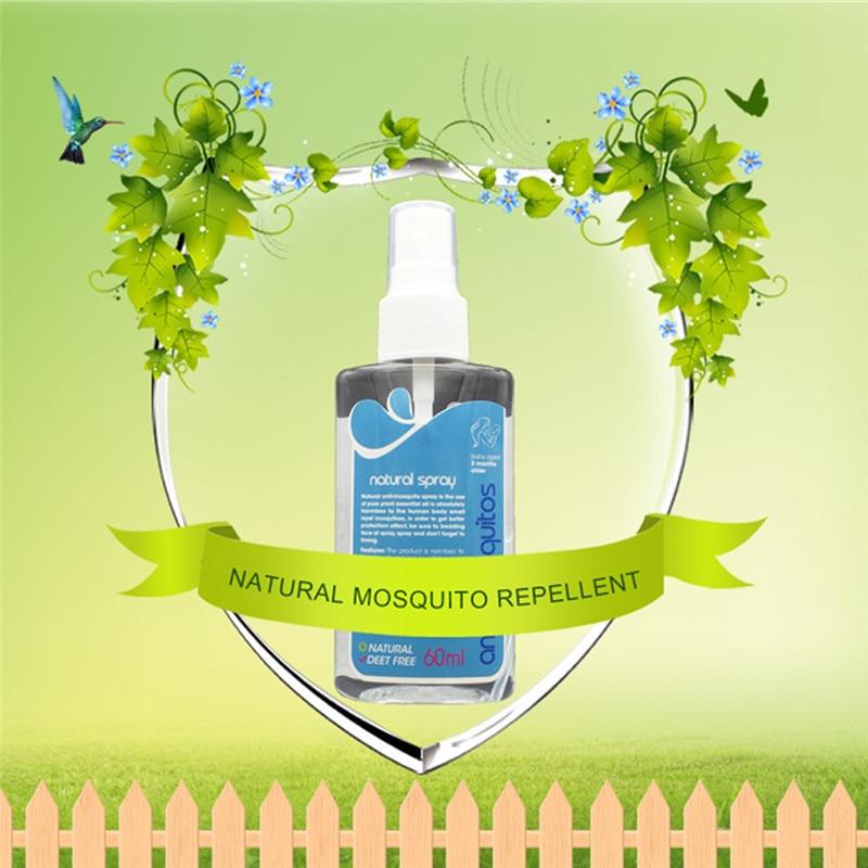 Adult Kids 60ml Outdoor Repellent Liquid Mosquito Repellent Spray Anti-itch Mosquito Bite Itching Spray Repellent Liquid Camping