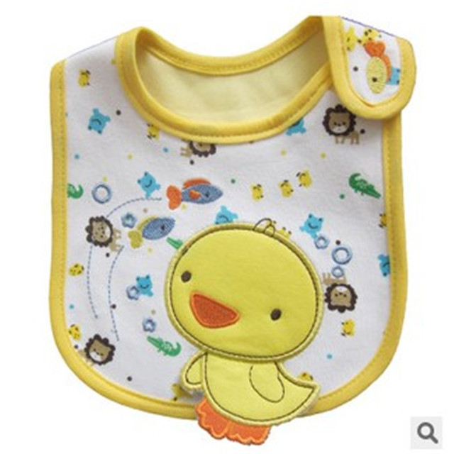 1PCS Newborn Baby Bibs Waterproof  Bib Bandana Baberos Bibs For Kids  Girls Boys Bib Baby Clothing 4