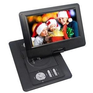 Image 4 - LONPOO 10.1 אינץ נגן DVD נייד TFT LCD מסך multi DVD עם מטען לרכב פונקצית משחק תמיכה DVD/CD/MP3