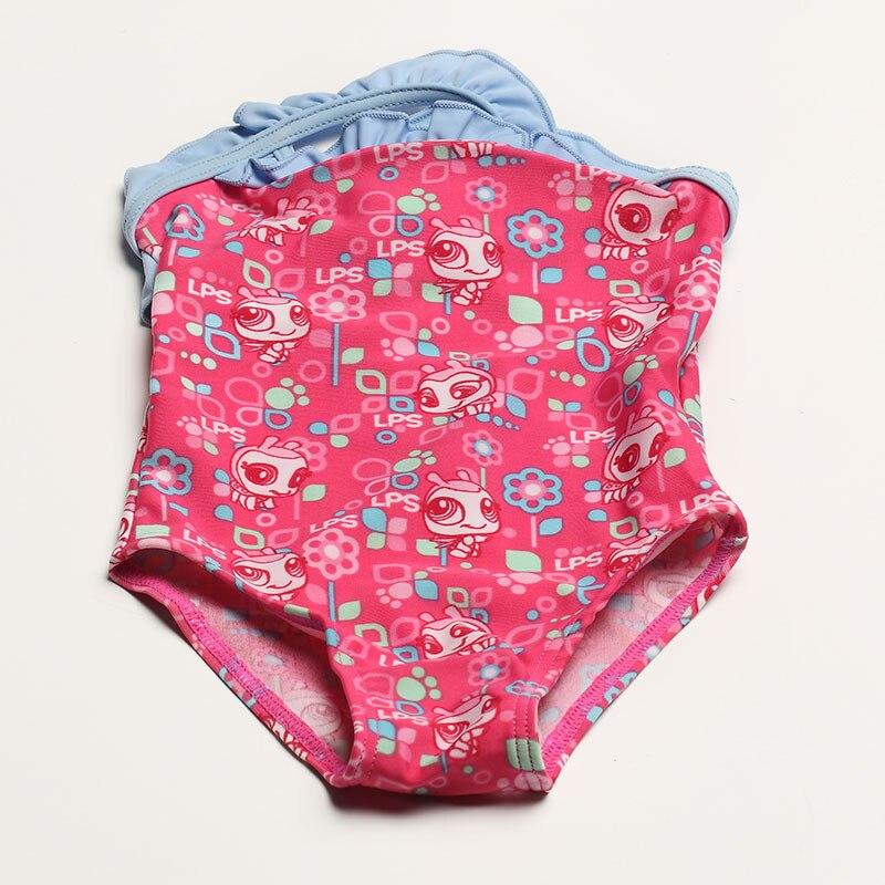 Baby Swimwuit One Piece Girls Fashion Dot Print Swimwear 2018 Summer Kid Girls Beach Swim Suit 1-2 Year