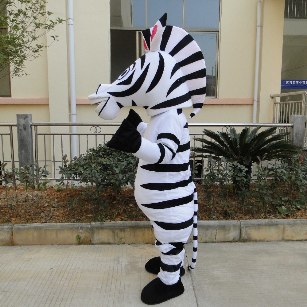 High quality adult size in Madagascar Zebra Mascot Costume Madagascar Marty Mascot Costume With Fan u0026 Helmet Free Shipping-in Anime Costumes from Novelty ... & High quality adult size in Madagascar Zebra Mascot Costume ...