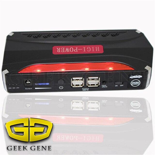 12000mAh Car Jump Starter Peak 600A Mini Portable Emergency Battery Charger for Petrol Diesel Car phone laptop SOS light