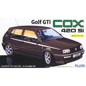 Assemble 1/24 Volkswagen Golf GTI COX 420Si Sports Car 12618