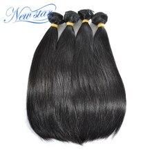Peruvian Straight Virgin Human Hair 4 Bundles Thick Extension 100%Unprocessed Natural Color Raw Hair Weaving New Star Hair