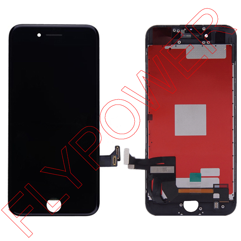 For iPhone 7 7g 4.7 LCD Screen Display with Touch Screen Digitizer Assembly free shipping; Black and White; 100% warranty вытяжка elikor вилла луизиана 60п 650 п3л бежевый дуб неокрашенный