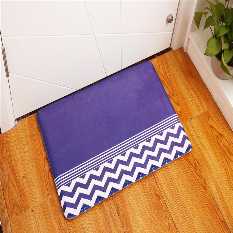Carpets & Rugs Welcome Floor Mats Bathroom Kitchen Carpets Doormats Floor Mat For Living Room Anti-slip Tapete Geometric Entrance Doormats