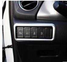 Для Suzuki Vitara 2016 2017 2018 1 шт. автомобиля детектор ручки Стайлинг крышка ABS Хром Передняя фара переключатель отделка рама лампы