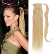 Best Quality 120g Ponytail Human Hair Remy Human Hair Ponytail Extensions 20″Long Length Pony tail
