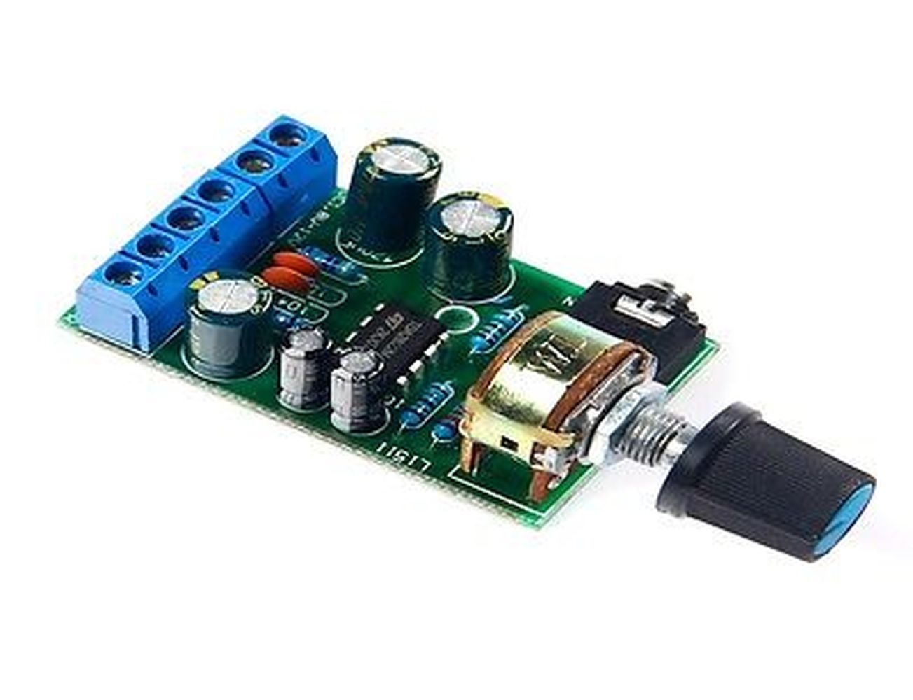 DC1.8-12V TDA2822M Amplifier 2.0 Channel Stereo AUX Audio Amp Board Module