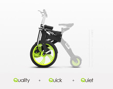 Little intelligent electric bicycle folding electric scooter