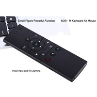 Multi Functional MX9 M Idoder2 4Ghz Wireless Mini Rechargeable Keyboard Air Mouse Remote Control With IR