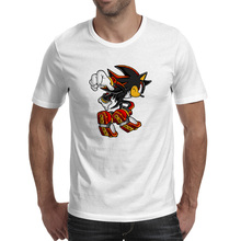 Shadow Hedgehog T-shirt Novelty Rock Cool T Shirt Style Pop Punk Women Men Top