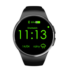 KW18 Bluetooth Smart Watch Clock Heart Rate Monitor Support SIM Card Pedometer Smartwatch For iPhone Samsung LG Android Phone