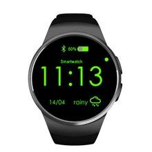 Kw18บลูทูธsmart watchนาฬิกาh eart rate monitorสนับสนุนซิมการ์ดpedometer s mart w atchสำหรับiphone samsung lgโทรศัพท์a ndroid