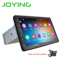 JOYING 1DIN 8'' HD 1080P touch screen Android 6.0 car radio GPS system multimedia player head unit with free reverse rear camera