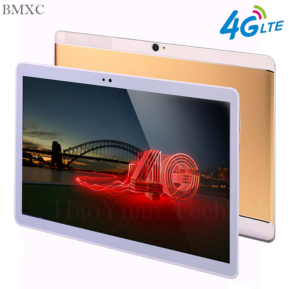 tab 10.1 inch 3G / 4G BIAR tablet pc Octa Core10 inti Android 8.1 RAM 4GB ROM 64GB 1920 * 1200 IPS tablet Ponsel Pintar pcs