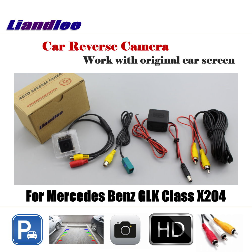 Liandlee Car Rearview Reverse Reversing Parking Camera For Mercedes Benz GLK Class X204 Display Rear View Backup Back Camera in Vehicle Camera from Automobiles Motorcycles