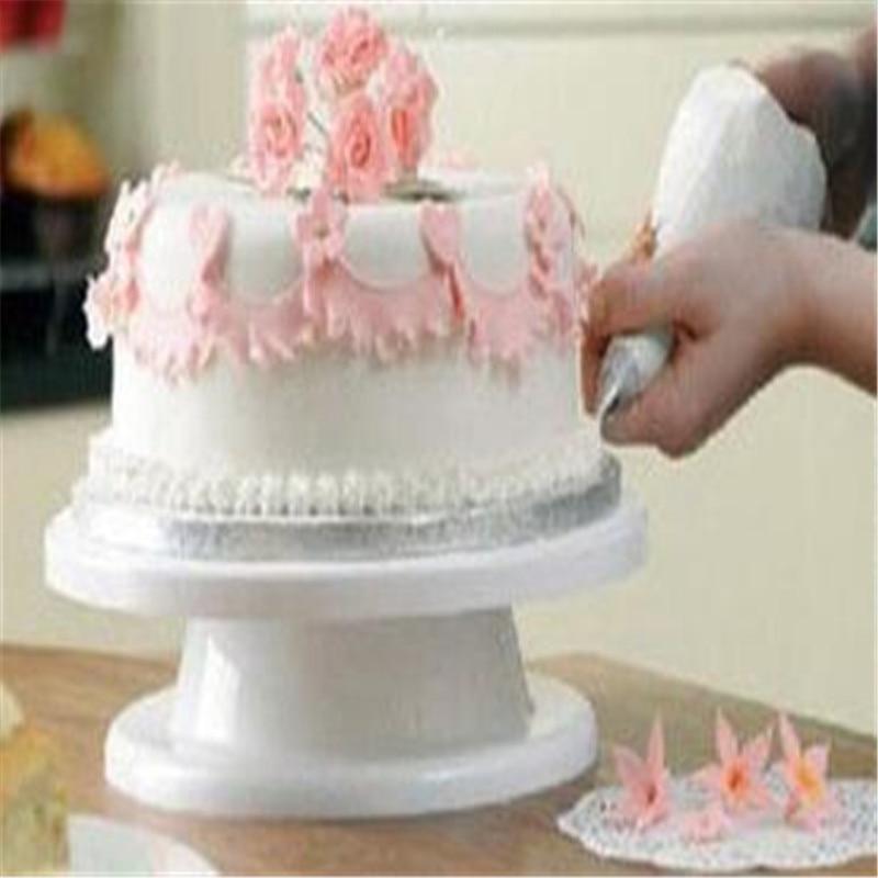 Kitchen Design Cake: Home Kitchen DIY Cake Decorating Stand Platform Round