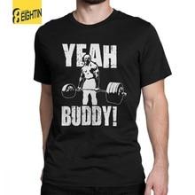 462209910 Man T Shirt Yeah Buddy Ronnie Coleman Body Building Casual Short Sleeve Tee  Shirt Round Neck