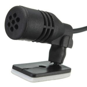 Image 5 - LEORY 3.5mm שקע תקע מיקרופון מונו מיני רכב אודיו מיקרופון נייד קליפ על דש Wired חיצוני מיקרופון עבור אוטומטי DVD רדיו
