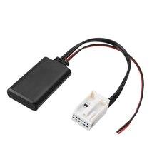 Bluetooth Car Kit 1pc 12Pin 12V Audio Adapter Aux Cable For BMW E60 04-10 E63 E64 03-10 E61