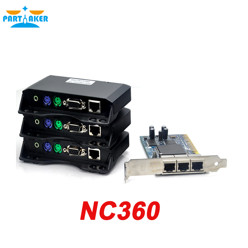 Partaker NC360 Cloud Computer VGA Lan Thin Client partaker all winner a20 512mb ram linux fl100 thin client network terminal cloud computer mini pc station